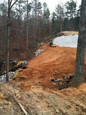 land clearing and construction site prep Birmingham, AL